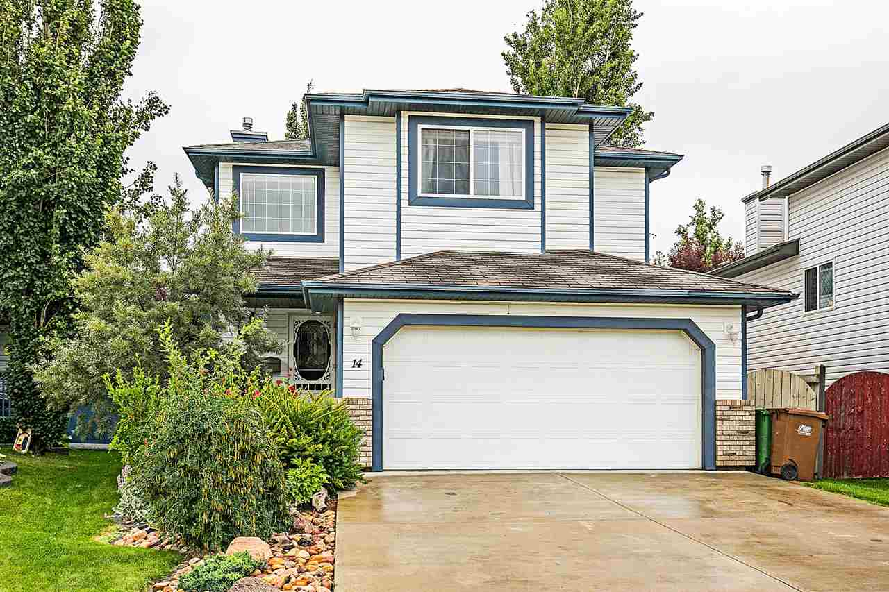 Main Photo: 14 ELBOW Place: St. Albert House for sale : MLS® # E4082685