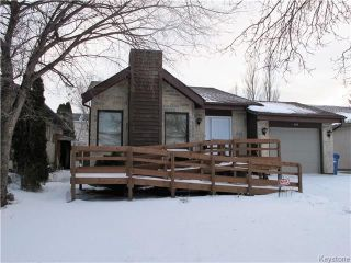 Main Photo: 99 Williamson Crescent in Winnipeg: Harbour View South Residential for sale (3J)  : MLS® # 1730616