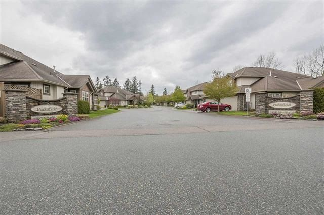 "Main Photo: 21 6887 SHEFFIELD Way in Sardis: Sardis East Vedder Rd Townhouse for sale in ""Parksfield"" : MLS® # R2240952"