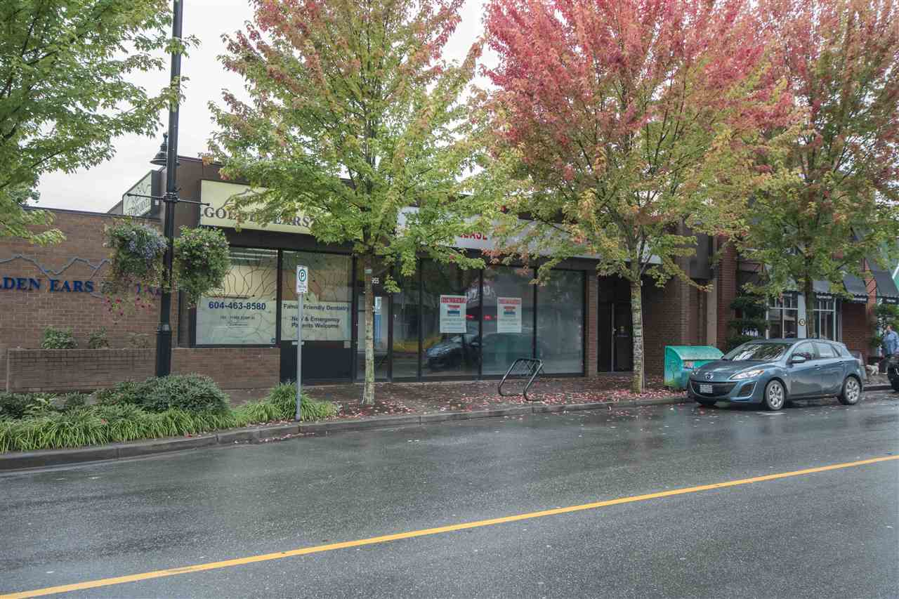 Central location in Maple Ridge.  Great exposure and visibility from vehicle & pedestrian traffic