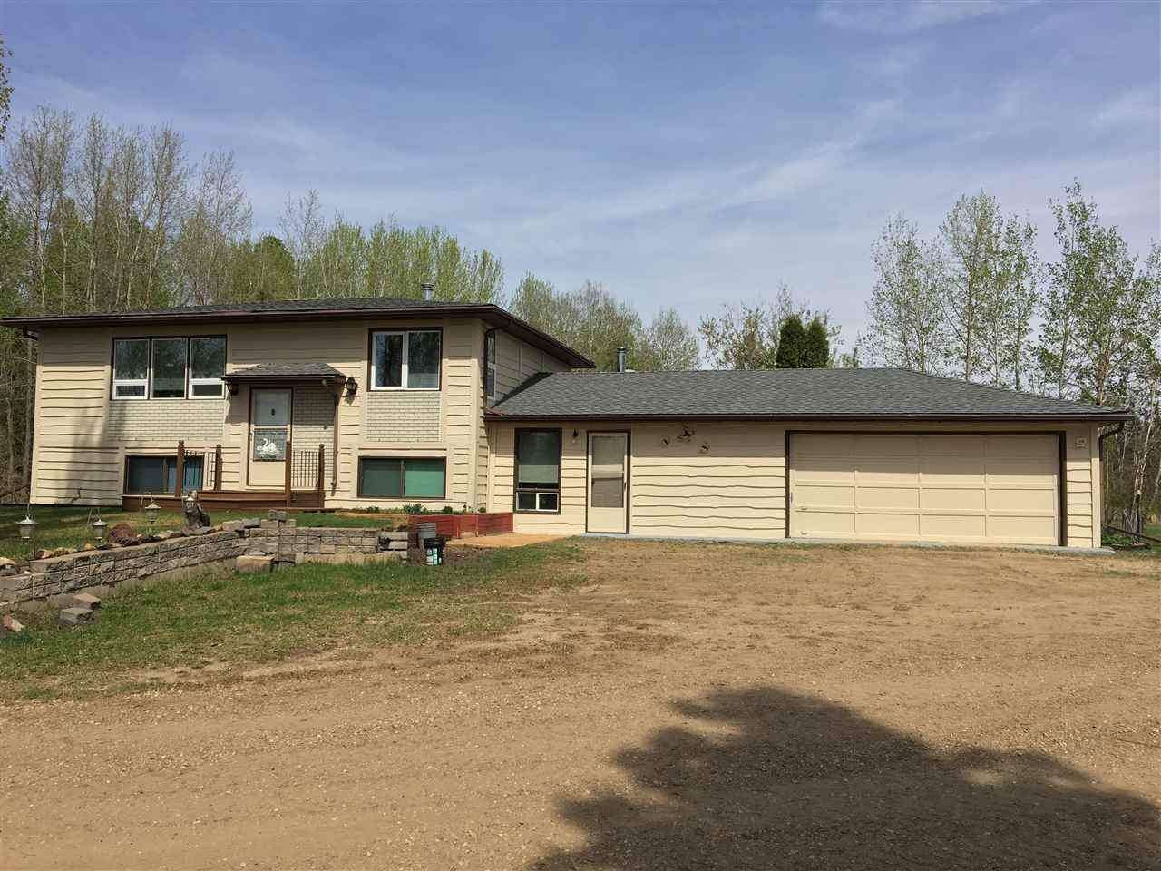 Main Photo: 623043 RR 250: Rural Athabasca County House for sale : MLS®# E4114737
