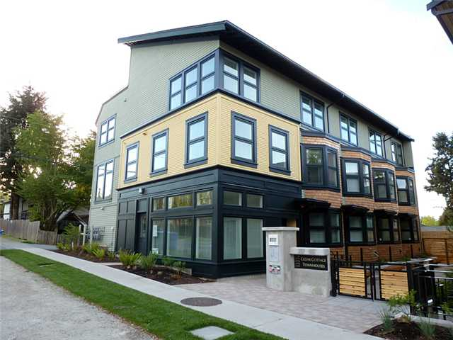 Main Photo: 1769 E 20TH AV in Vancouver: Victoria VE Condo for sale (Vancouver East)  : MLS® # V1005108