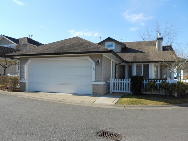 "Main Photo: 20 6488 168TH Street in Surrey: Cloverdale BC Townhouse for sale in ""TURNBERRY"" (Cloverdale)  : MLS® # F1403317"