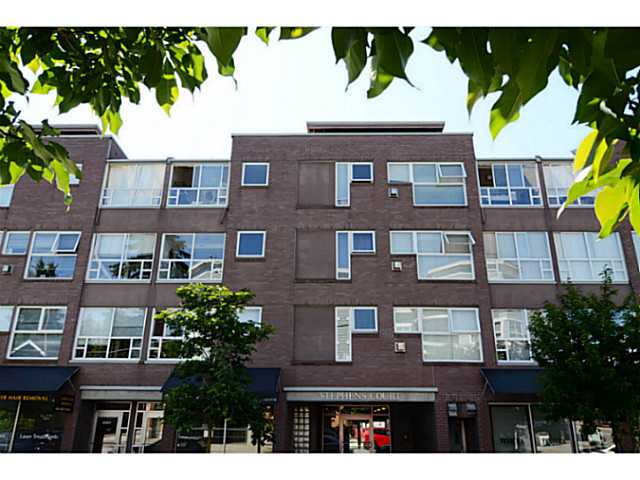 "Main Photo: 304 2025 STEPHENS Street in Vancouver: Kitsilano Condo for sale in ""STEPHEN'S COURT"" (Vancouver West)  : MLS® # V1069084"