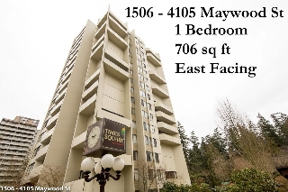 "Main Photo: 1506 4105 MAYWOOD Street in Burnaby: Metrotown Condo for sale in ""TIMES SQUARE"" (Burnaby South)  : MLS(r) # R2142735"