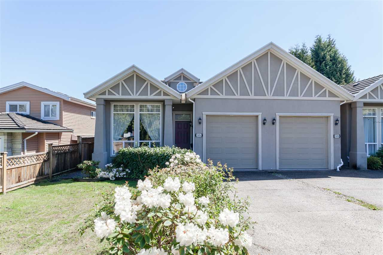 Main Photo: 5496 CHAFFEY Avenue in Burnaby: Central Park BS House 1/2 Duplex for sale (Burnaby South)  : MLS®# R2163788