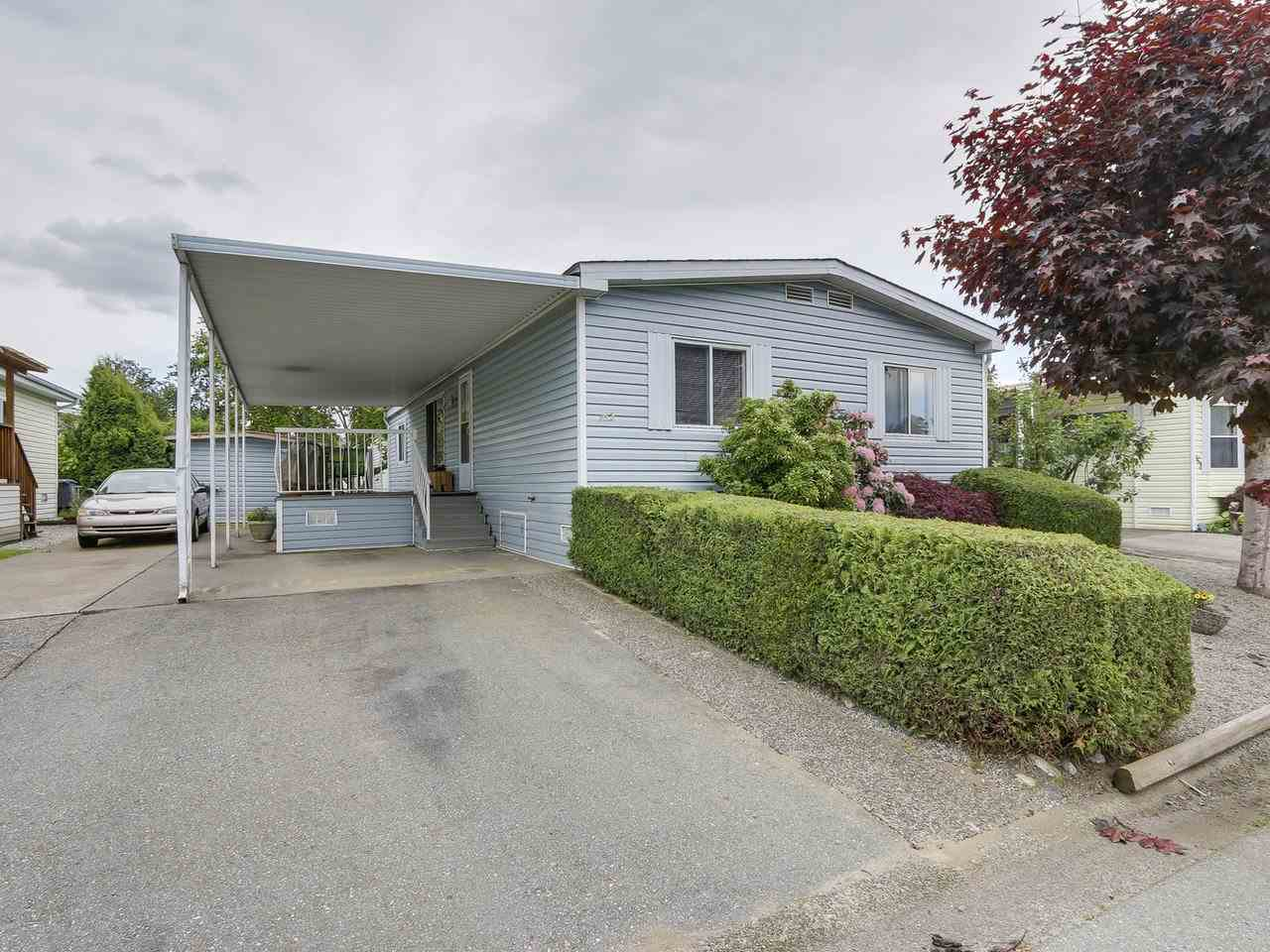 "Main Photo: 162 145 KING EDWARD Street in Coquitlam: Central Coquitlam Manufactured Home for sale in ""MILL CREEK VILLAGE"" : MLS(r) # R2171865"