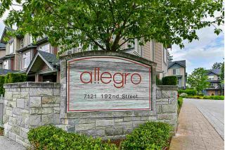 "Main Photo: 79 7121 192 Street in Surrey: Clayton Townhouse for sale in ""ALLEGRO"" (Cloverdale)  : MLS®# R2271255"