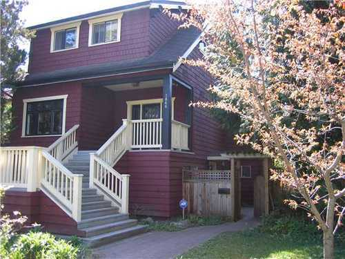 Main Photo: 3866 18TH Ave W in Vancouver West: Dunbar Home for sale ()  : MLS® # V954526
