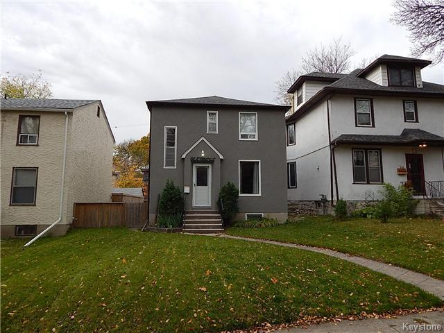 Main Photo: 66 Chestnut Street in Winnipeg: Wolseley Residential for sale (5B)  : MLS®# 1626694