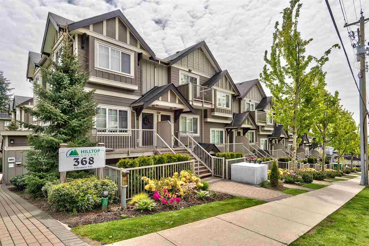 "Main Photo: 102 368 ELLESMERE Avenue in Burnaby: Capitol Hill BN Townhouse for sale in ""HILLTOP GREENE"" (Burnaby North)  : MLS®# R2204042"