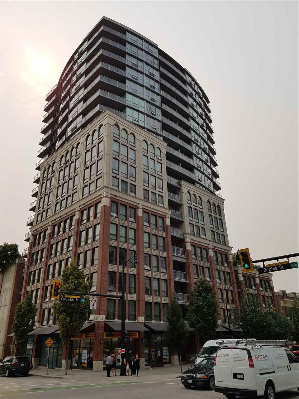 "Main Photo: 1207 14 BEGBIE Street in New Westminster: Quay Condo for sale in ""INTERURBAN"" : MLS® # R2205691"