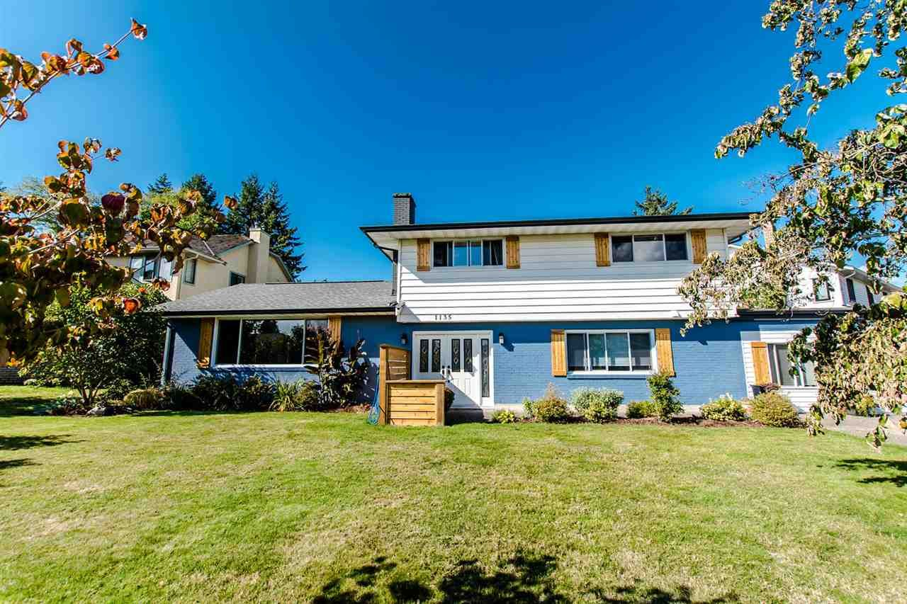 Main Photo: 1135 164A STREET in Surrey: King George Corridor House for sale (South Surrey White Rock)  : MLS® # R2211607