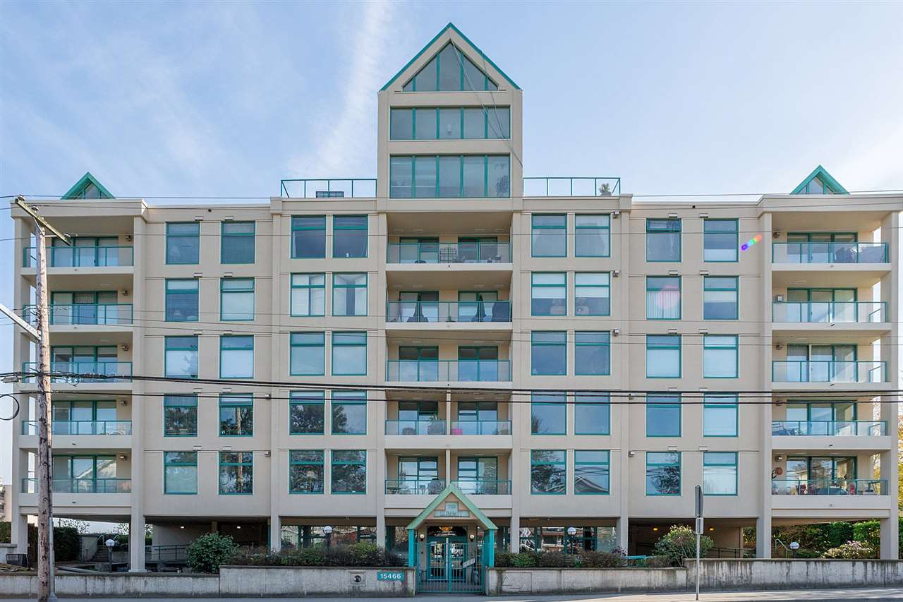 "Main Photo: 301 15466 NORTH BLUFF Road: White Rock Condo for sale in ""THE SUMMIT"" (South Surrey White Rock)  : MLS®# R2273976"