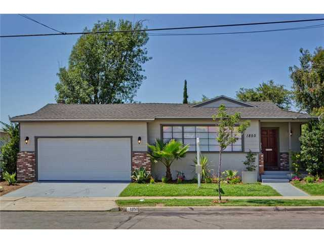 Main Photo: SAN DIEGO House for sale : 4 bedrooms : 1850 Ridge View