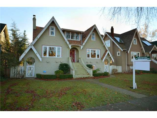 "Main Photo: 4036 W 13TH Avenue in Vancouver: Point Grey House for sale in ""Point Grey"" (Vancouver West)  : MLS® # V921716"