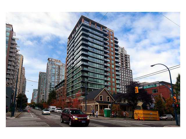 Main Photo: 1807 1088 RICHARDS Street in Vancouver: Yaletown Condo for sale (Vancouver West)  : MLS® # V1055333