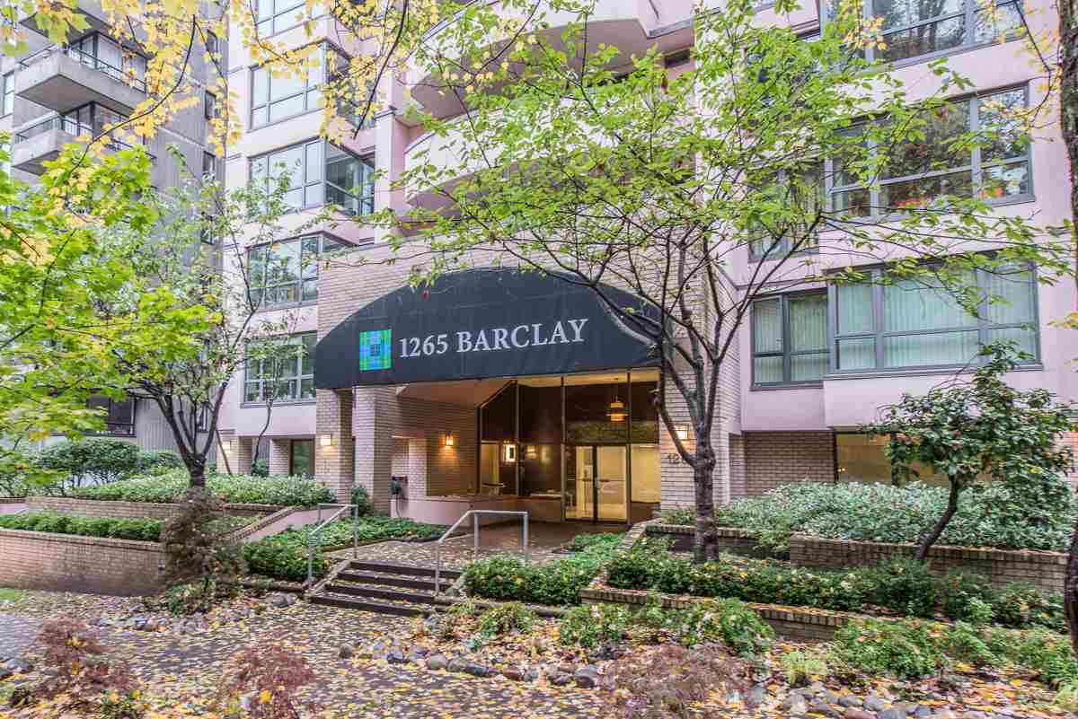 "Main Photo: 803 1265 BARCLAY Street in Vancouver: West End VW Condo for sale in ""THE DORECHESTER"" (Vancouver West)  : MLS(r) # R2012013"