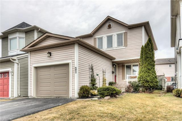 Main Photo: 21 Ivory Court in Clarington: Bowmanville House (2-Storey) for sale : MLS® # E3734585