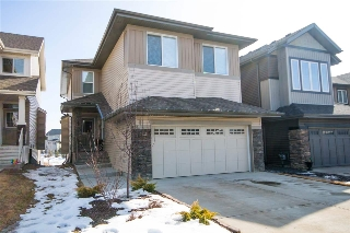 Main Photo: 1039 174 Street in Edmonton: Zone 56 Attached Home for sale : MLS(r) # E4056833
