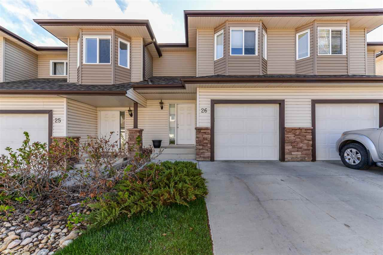 Main Photo: 26 171 Brintnell Boulevard Edmonton 2 Bed Townhouse For Sale E4064543