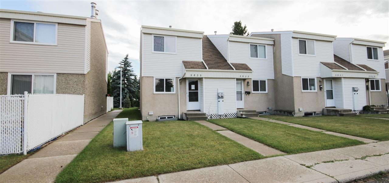 Main Photo: 5835 RIVERBEND Road in Edmonton: Zone 14 Townhouse for sale : MLS® # E4071148