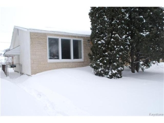 Main Photo: 1175 Polson Avenue in WINNIPEG: North End Residential for sale (North West Winnipeg)  : MLS(r) # 1400336