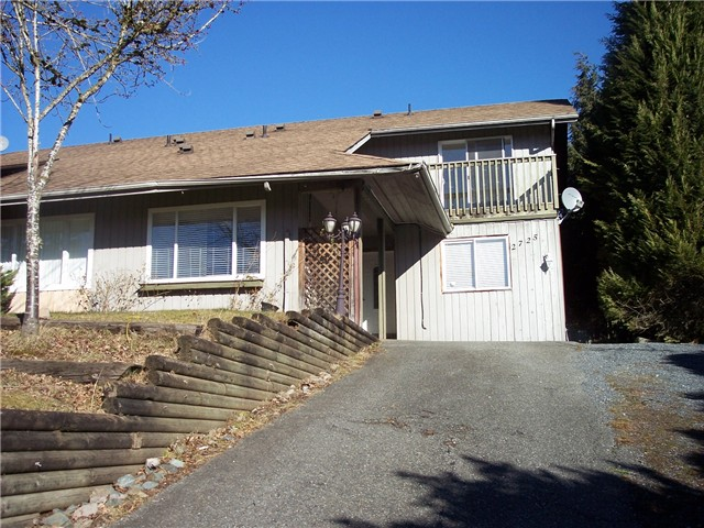 "Main Photo: 2725 SANDON Drive in Abbotsford: Abbotsford East House 1/2 Duplex for sale in ""MCMILLAN LOCATION"" : MLS(r) # F1401829"