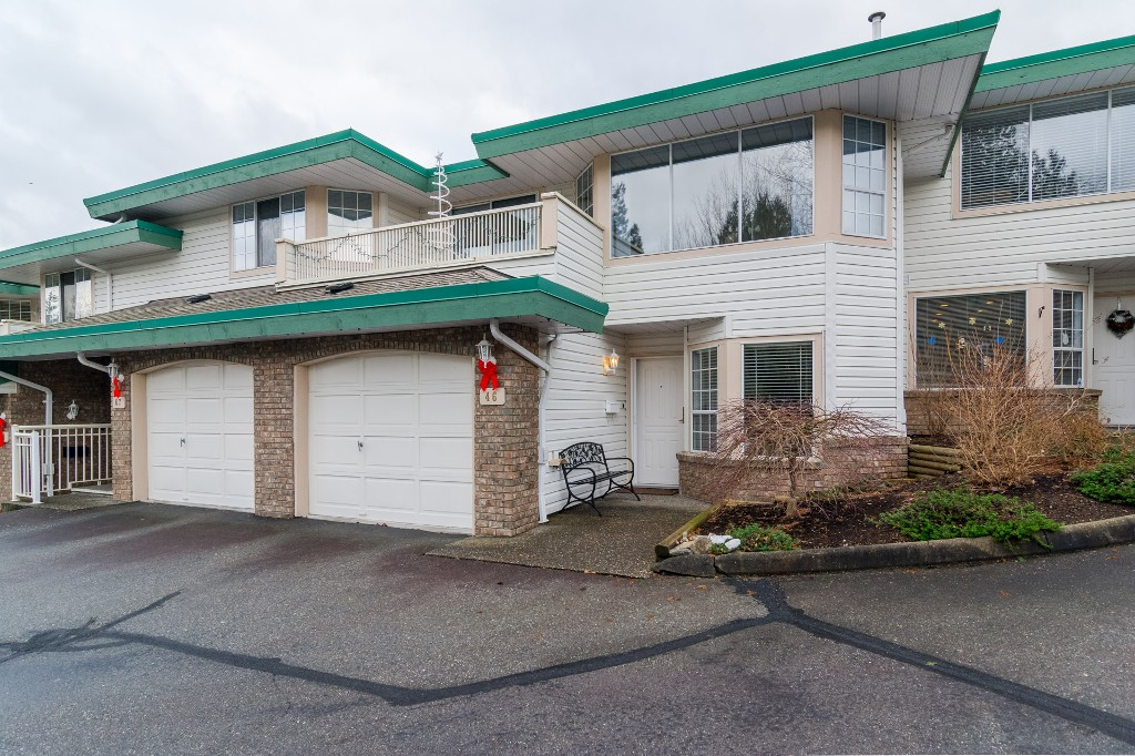 "Main Photo: 46 3115 TRAFALGAR Street in Abbotsford: Central Abbotsford Townhouse for sale in ""Cedarbrook Village"" : MLS® # R2128409"