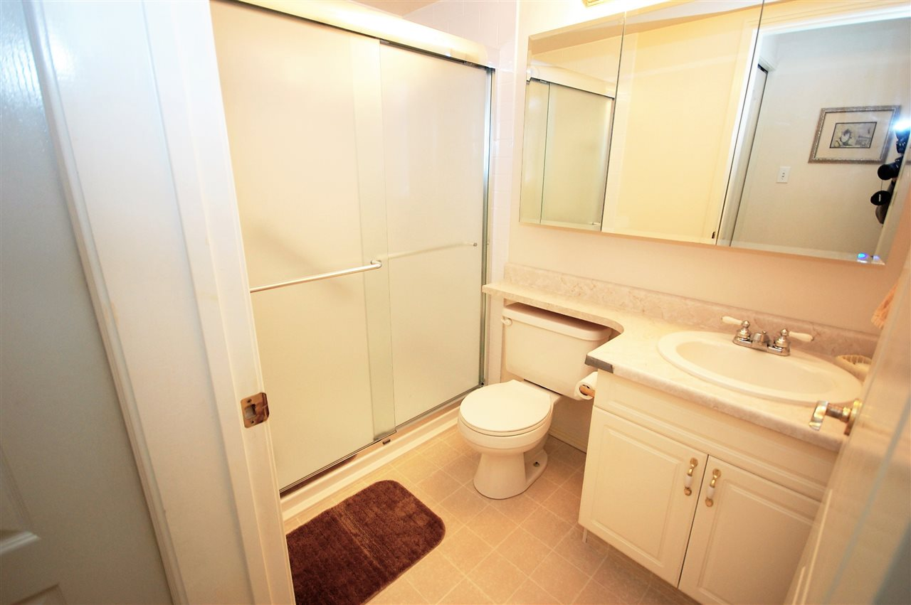 This renovated walk-in shower is NEW in 2015 - $5000+ cost by Bath Fitter.
