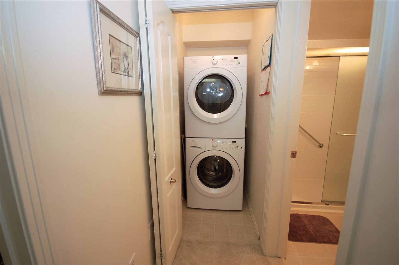 Enjoy convenient In-suite laundry & storage area.