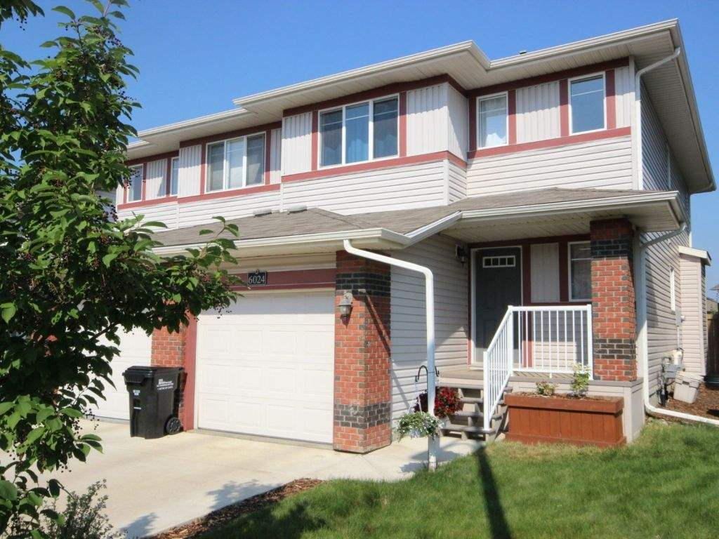 Main Photo: 6024 Sunbrook Landing: Sherwood Park House Half Duplex for sale : MLS® # E4074280