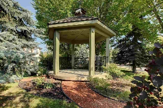 Gazebo located on the grounds of Prestige Point.
