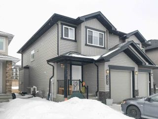 Main Photo: 5949 167C Avenue in Edmonton: Zone 03 House Half Duplex for sale : MLS®# E4103949