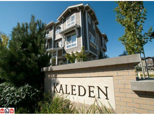 "Main Photo: 54 2729 158TH Street in Surrey: Grandview Surrey Townhouse for sale in ""Kaleden"" (South Surrey White Rock)  : MLS®# F1122813"