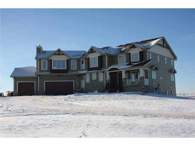 Main Photo: 104051 Sunset Hills Boulevard: Rural Foothills M.D. Residential Detached Single Family for sale : MLS® # C3648256