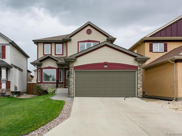 Main Photo: 26 Ironweed Road in Winnipeg: Sage Creek Residential for sale (2K)  : MLS(r) # 1621254