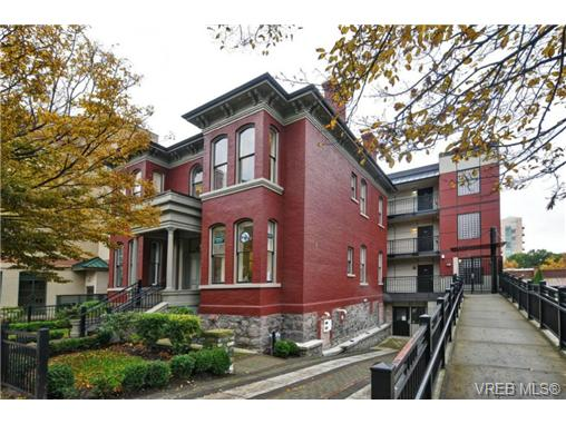 Main Photo: 402 1007 Johnson Street in VICTORIA: Vi Downtown Condo Apartment for sale (Victoria)  : MLS®# 369674