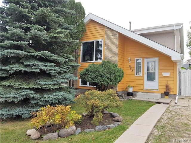 Main Photo: 883 Bairdmore Boulevard in Winnipeg: Richmond West Residential for sale (1S)  : MLS®# 1627227