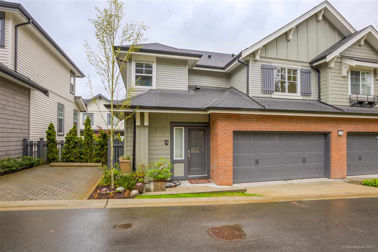 "Main Photo: 28 3470 HIGHLAND Drive in Coquitlam: Burke Mountain Townhouse for sale in ""BRIDLEWOOD"" : MLS(r) # R2162028"