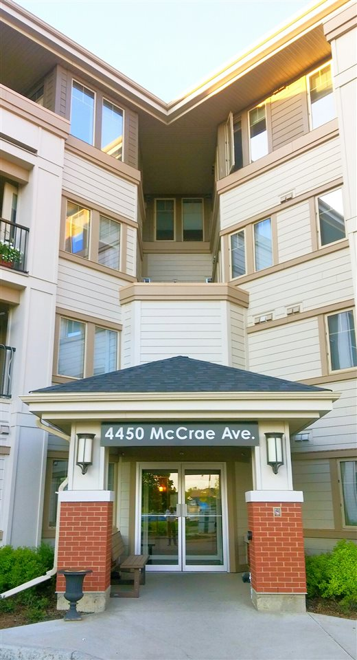 Main Photo: 209 4450 MCCRAE Avenue in Edmonton: Zone 27 Condo for sale : MLS® # E4065549