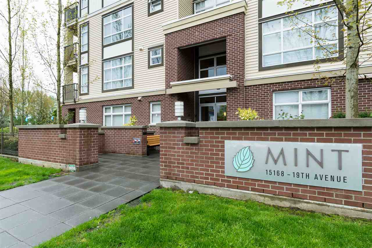 "Main Photo: 306 15168 19TH Avenue in Surrey: Sunnyside Park Surrey Condo for sale in ""THE MINT"" (South Surrey White Rock)  : MLS(r) # R2178469"