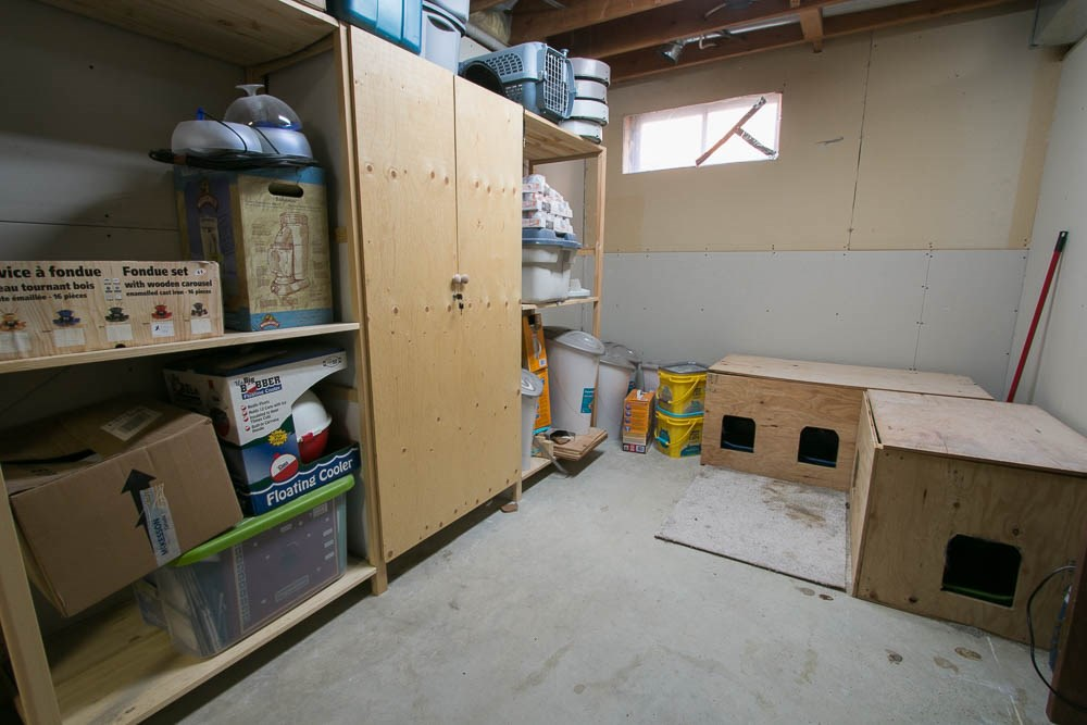 Storage/utility room could be converted into a 6th bedroom.