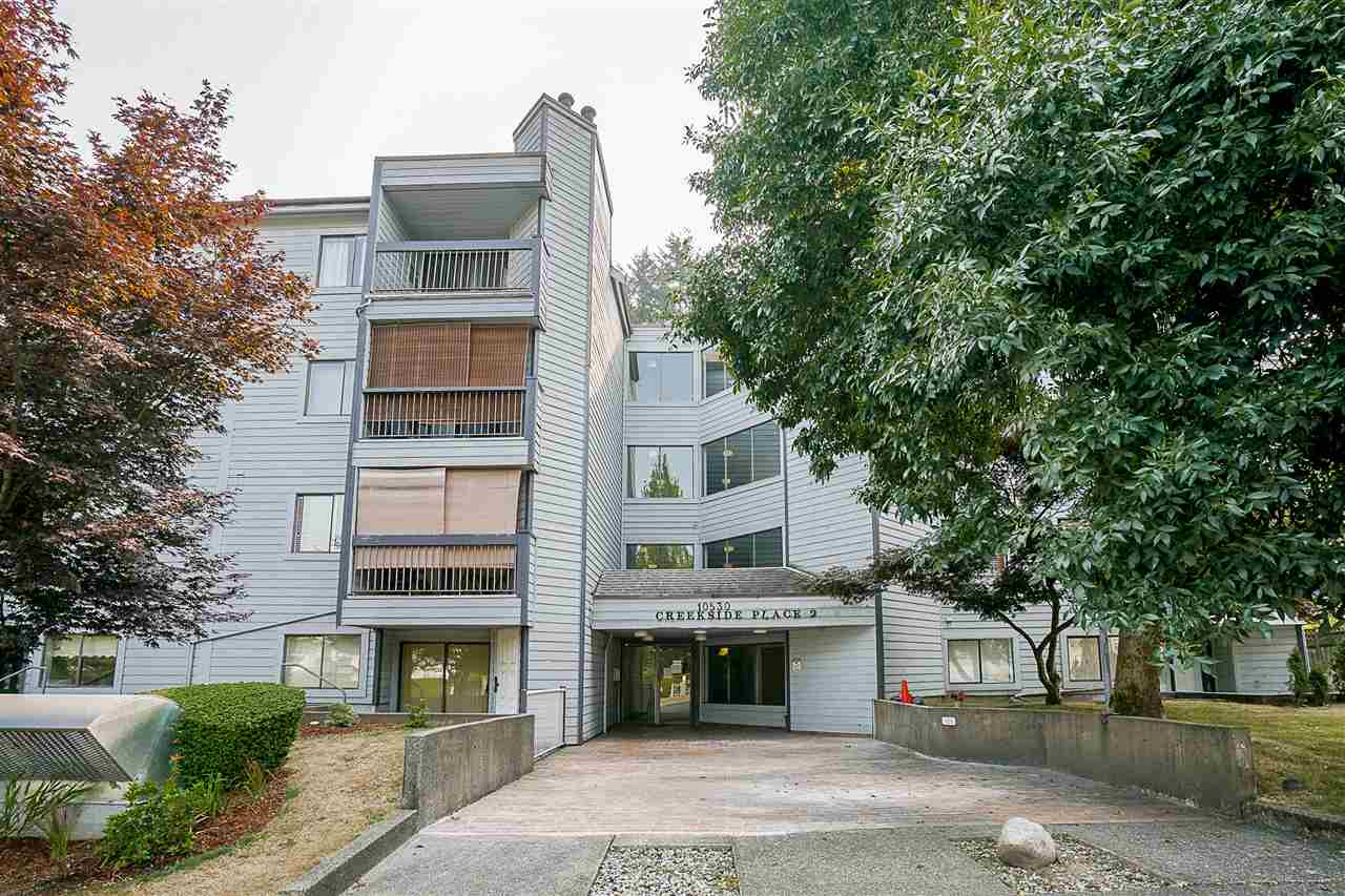 "Main Photo: 213 10530 154 Street in Surrey: Guildford Condo for sale in ""Creekside"" (North Surrey)  : MLS®# R2205122"