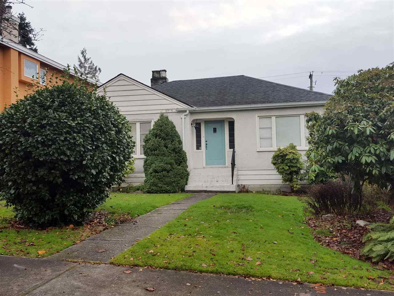 Main Photo: 2316 W 21ST Avenue in Vancouver: Arbutus House for sale (Vancouver West)  : MLS®# R2225210