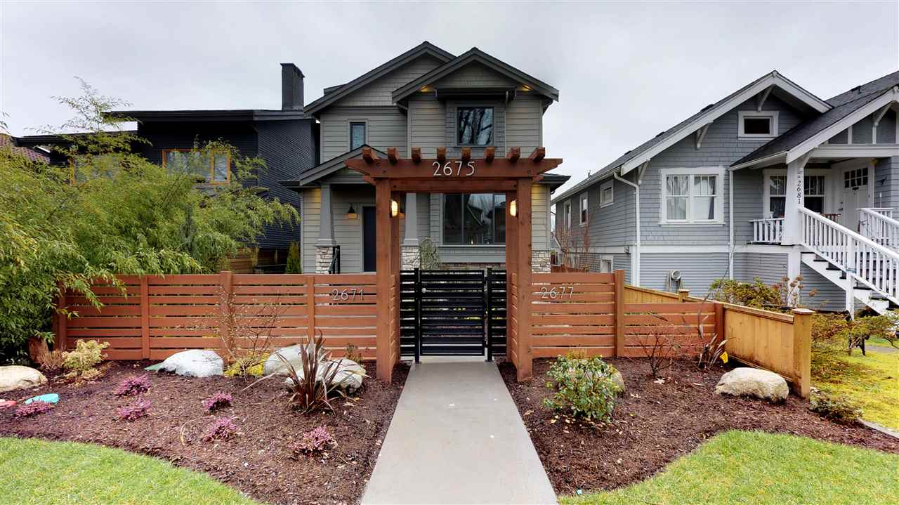 Main Photo: 2675 ETON Street in Vancouver: Hastings East House for sale (Vancouver East)  : MLS®# R2248700