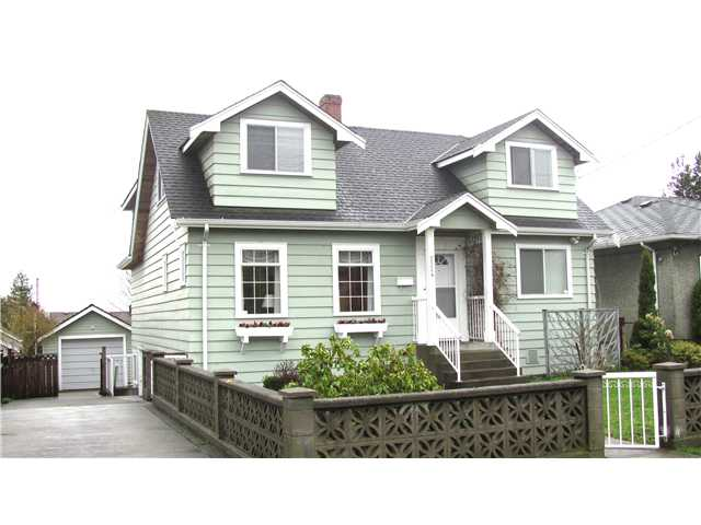 "Main Photo: 1524 DUBLIN Street in New Westminster: West End NW House for sale in ""WEST END"" : MLS® # V880284"