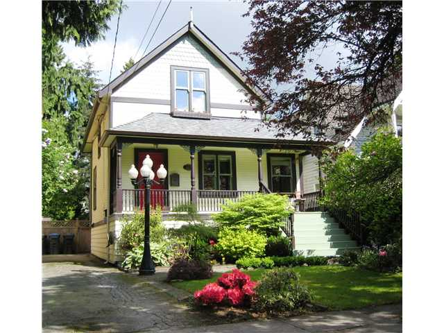Main Photo: 227 REGINA Street in New Westminster: Queens Park House for sale : MLS® # V1065391