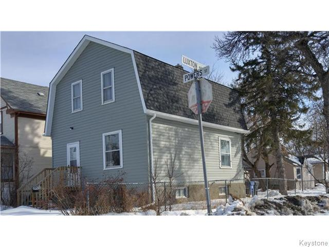 Main Photo: 593 Powers Street in Winnipeg: North End Residential for sale (North West Winnipeg)  : MLS®# 1604124