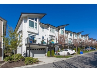 "Main Photo: 8 1299 COAST MERIDIAN Road in Coquitlam: Burke Mountain Townhouse for sale in ""The Breeze"" : MLS®# R2050868"